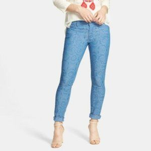 7FAM the skinny jeans in moroccan blue B6